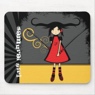 Samurai Girl Mousepad
