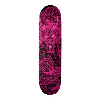 Samurai Girl One Pink Element Custom Pro Deck Skateboard Deck