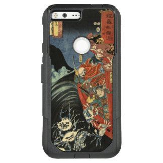 Samurai Hero Minamoto no Yoshitsune vs. Ghost Crab OtterBox Commuter Google Pixel XL Case