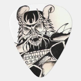 Samurai Ink Guitar Pick