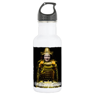 Samurai Japanese Warrior - insert YOUR Photo & Tex 532 Ml Water Bottle