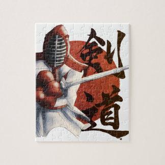 samurai jigsaw puzzle