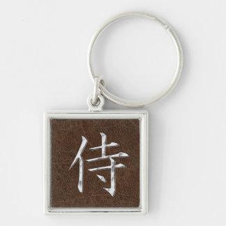 Samurai Kanji Keychain