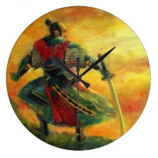 Samurai Large Clock