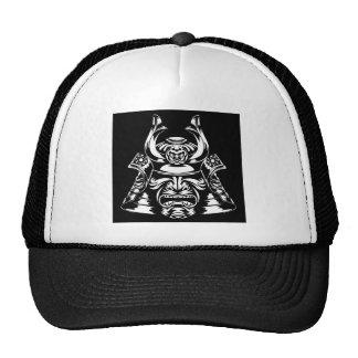 Samurai Mask and Helmet Trucker Hat