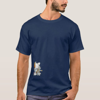 Samurai Mouse in Armor T-Shirt
