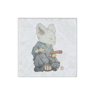 Samurai Mouse in Tatehiza Magnet