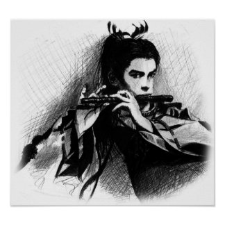 samurai musician poster
