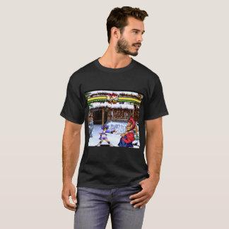 Samurai Ninja Retro Video Game Fighting T-Shirt
