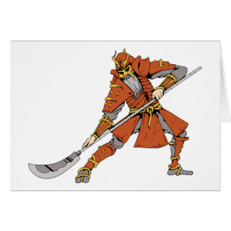 Samurai ~ Ninjas Martial Arts Warrior Fantasy Art Card