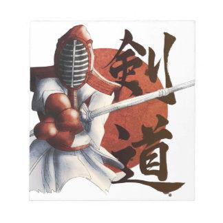 samurai notepad