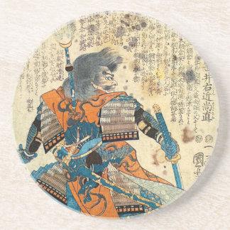 Samurai Orenji Coaster
