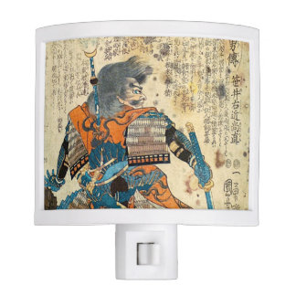 Samurai Orenji Nite Light