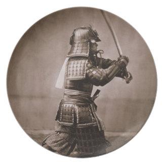 Samurai Party Plate