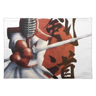 samurai place mat