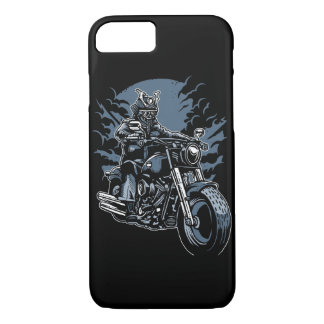 Samurai Ride Glossy Phone Case