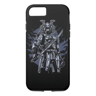Samurai Robot Skull Tough Phone Case