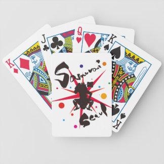 Samurai Seoul Bicycle Playing Cards