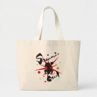 Samurai Seoul Large Tote Bag