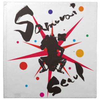 Samurai Seoul Napkin
