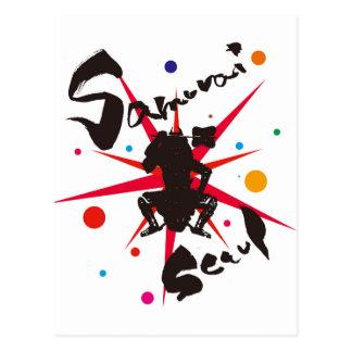 Samurai Seoul Postcard