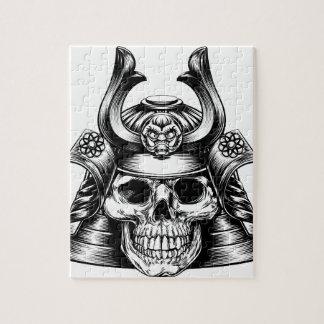 Samurai Skull Jigsaw Puzzle