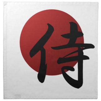 Samurai Sun Napkin