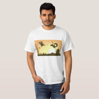 Samurai Tanuki T-Shirt