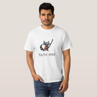 Samurai Tanuki T-Shirt (Tanuki)
