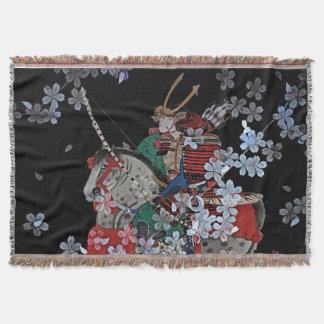Samurai Throw Blanket