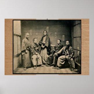 samurai, Tokyo 1860 Poster