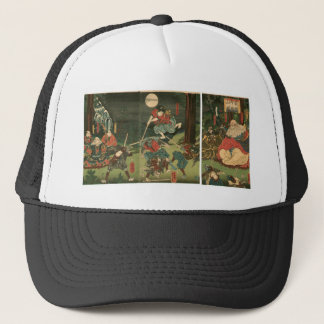 Samurai training with Tengu, Circa 1859 Trucker Hat