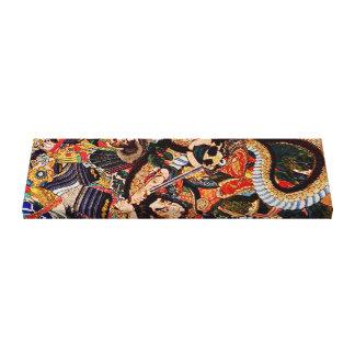 Samurai Underworld Canvas Print