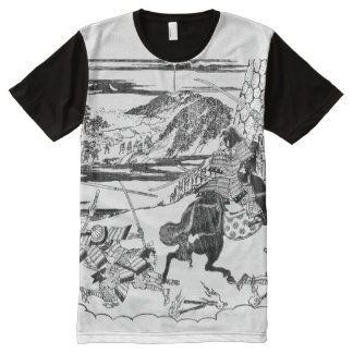 Samurai Warrior All-Over-Print T-Shirt