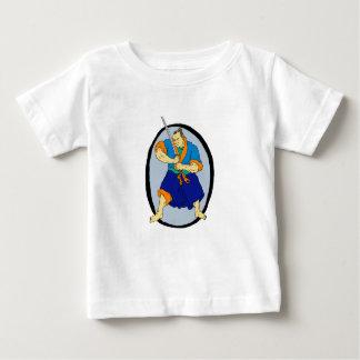 Samurai Warrior Katana Enso Baby T-Shirt