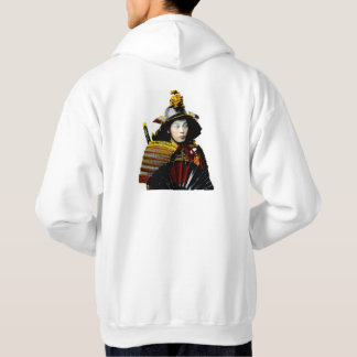 Samurai Warrior of Old Japan Vintage Warrior 侍 Hoodie