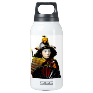 Samurai Warrior of Old Japan Vintage Warrior 侍 Insulated Water Bottle