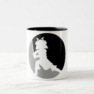 Samurai Warrior Silhouette Mug
