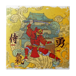 Samurai Warrior Tile