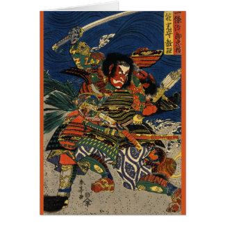 Samurai Warriors Battle 1819 Card