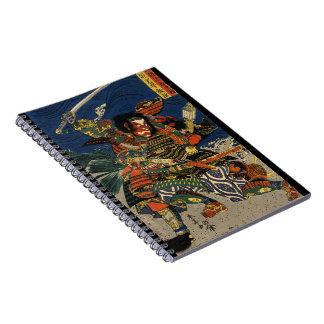 Samurai Warriors Battle 1819 Notebook