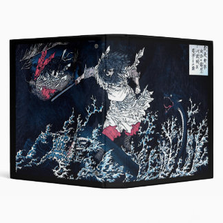 Samurai & Water Dragon Binder