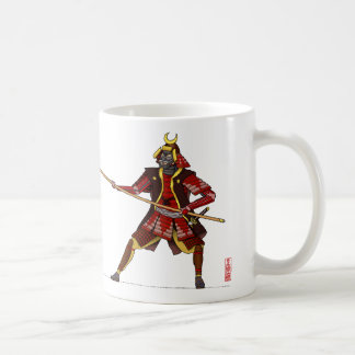 Samurai with Spear Coffee Mug