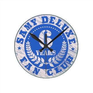 Samy Deluxe fan club anniversary clock
