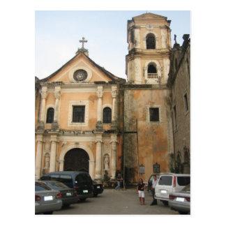 San Agostin church Postcard