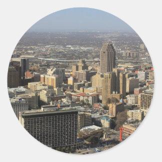San Antonio Classic Round Sticker