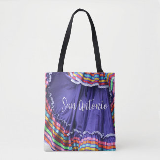 San Antonio Colors Tote Bag