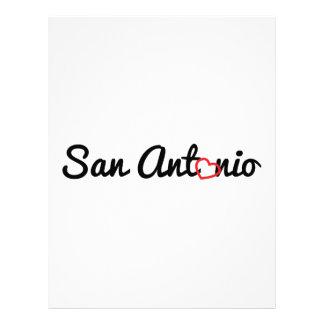 San Antonio Customized Letterhead
