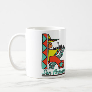 San Antonio Graphic Coffee Mug