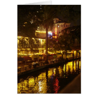 San Antonio River Walk Card